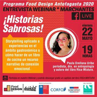 Historias Sabrosas | Food Design DISÉÑALA #01