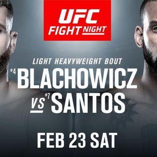 MMA Fight Picks: #UFCPrague Błachowicz vs. Santos