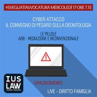 MERCOLEDÌ, 17 MAGGIO 2017 #SvegliatiAvvocatura - LIVE