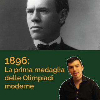 La prima medaglia delle Olimpiadi moderne: il Salto Triplo ad Atene 1896