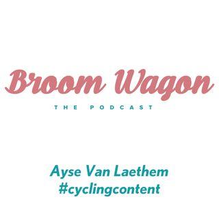 Ayse Van Laethem #cyclingcontent