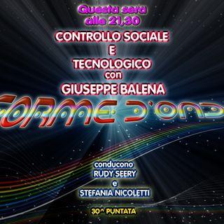 Forme d' Onda - Giuseppe Balena: Controllo Sociale e Tecnologico - 08-06-2017