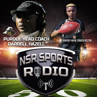 Purdue Head Coach Darell Hazell on NSR Sports Radio