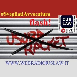 #Usura e #Racket: approfondiamo l'argomento con l'Avv. Roberto Di Napoli - 15 settembre 2016