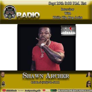 Quarantine Radio Interview With Shawn Archer