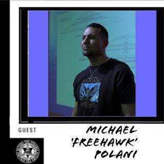 Researcher Michael FreeHawk Polani 12-22-19