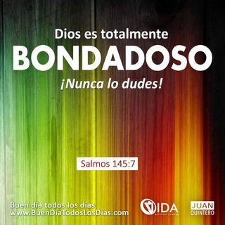 BUEN DÍA – LA BONDAD DE DIOS