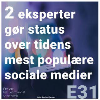 To eksperter gør status over tidens mest populære sociale medier