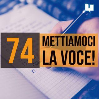 74 - Organizzare una lettura in pubblico