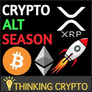 CRYPTO Alt Season Pump! & BITCOIN Is Beating Gold As An Inflation Hedge