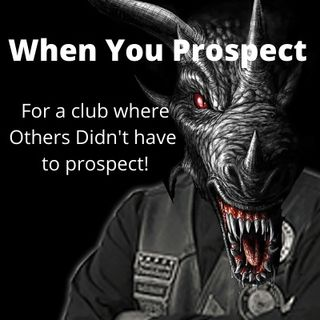 When You Prospect For an MC and Others Didn't Have to Prospect