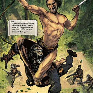 Source Material #125: Tarzan on the Planet of the Apes Comics (2016)