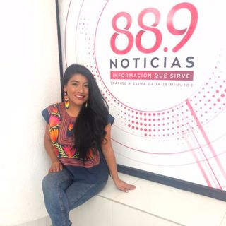 María Reyna: cantante de Opera en lengua Mixe (22 de junio 2019)