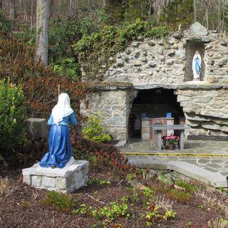 Bernadette & Our Lady