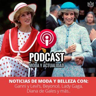 Noticias de Moda y Belleza: Ganni y Levi's, Beyoncé, Lady Gaga, Diana de Gales y más..
