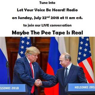 Maybe The Pee Tape Is Real