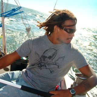 "02: Touring Singer/Songwriter, Competitive Sailor/Surfer & Author Marc Borde ""That Captain"""