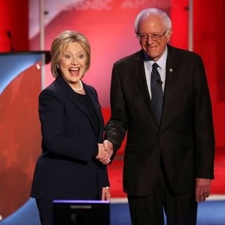 Hillary Clinton Will Support Democrat Nominee, Even if It's Bernie Sanders