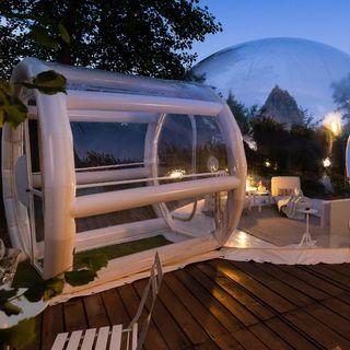 """Bubble Room in Piemonte: dormire in una romantica """"bolla"""" sotto un cielo di stelle"""