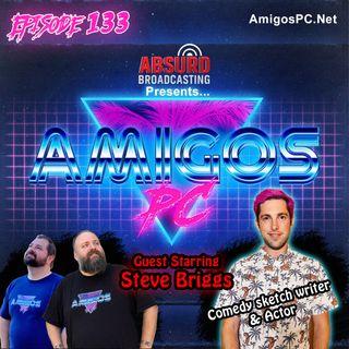133 Steven Briggs TruTV's Laff Tracks, Hulu's Coming to the Stage, Jokesters TV