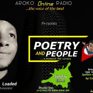 POETRY & PEOPLE (ODE TO A NATION)