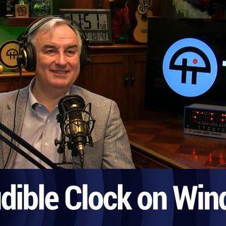Setting Up an Audio Clock for Windows | TWiT Bits