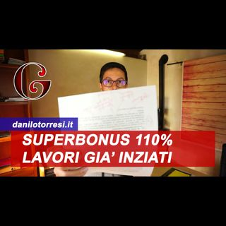 Superbonus 110% lavori già iniziati come funziona - FAQ MEF