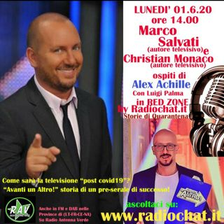 "Marco Salvati e Christian Monaco ospiti di Alex Achille in ""RED ZONE"" by Radiochat.it"