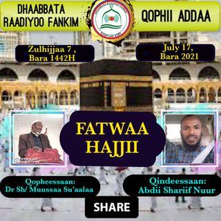 FATWAA DR SHEIKH MUSSAA SU'AALAA