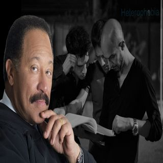 EXPLICIT CONTENT :  JUDGE JOE BROWN CHALLENGES A HETEROPHOBE (GAY MAN)