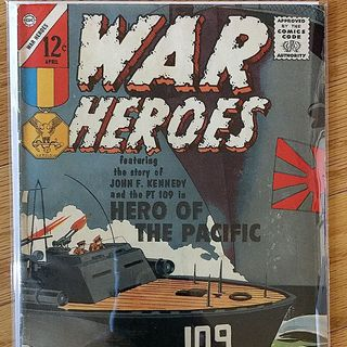 Episode 022 - War Heroes No. 2, Apr. 1963, Charlton Comics Group