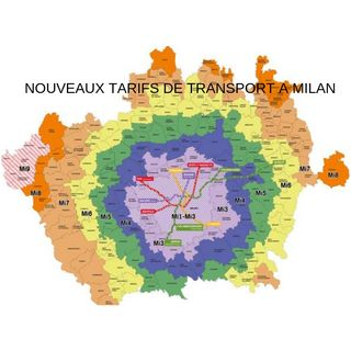 NOUVEAUX TARIFS DES TRANSPORTS A MILAN