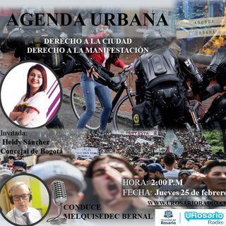 Derecho a la Ciudad: el derecho a la manifestación pública y pacífica