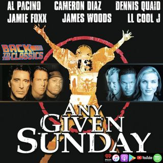 Back to Any Given Sunday w/ Jon Foster
