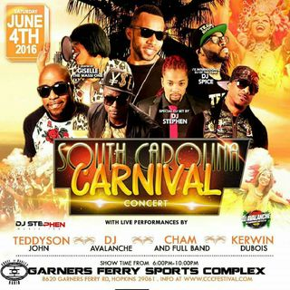 South Carolina Carnival feat Cham