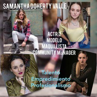Entrevista Samantha Doherty Valle. Talento y Emprendimiento.