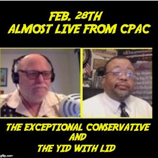 The Urban Conservative And One Bald Jew At CPAC