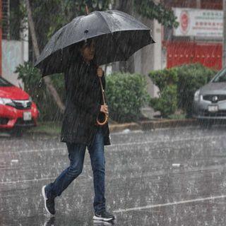 Alerta amarilla por lluvias en la CDMX