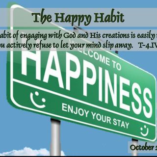 The Happy Habit - 10/23/16