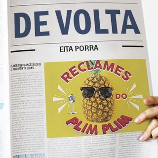 Temp2 Ep1 Piloto - O Brasil até aqui, vivendo em Portugal e o irmão imaginário - Reclames do PlimPlim