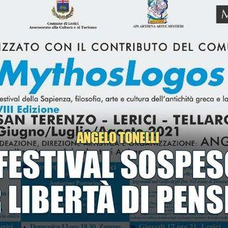 """Angelo Tonelli: """"Vi spiego perché hanno sospeso il nostro festival"""""""