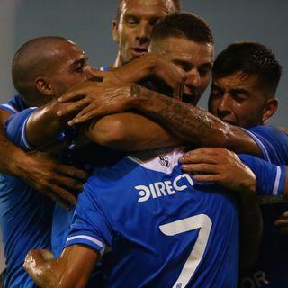 Gol de Belgrano: Juan Ruiz Gómez 1-0