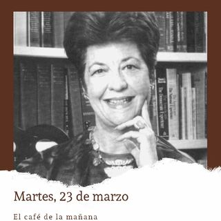 Martes, 23 de marzo. Bette Nesmith Graham