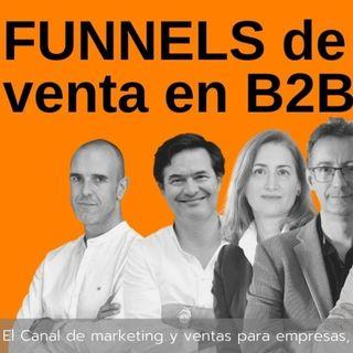 Los funnels o embudos de ventas en  B2B