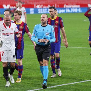 Como mire la derrota del barcelona contra el sevilla por la copa
