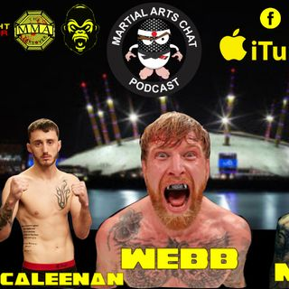 Cage Warriors 102: Rhys Mckee, James Webb, Steve O'Keefe, Deccy McAleenan