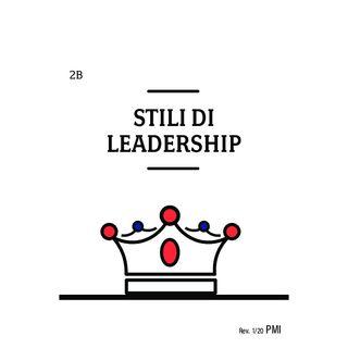 AL • Your Change Canvas • Carta 2B - Gli stili di leadership
