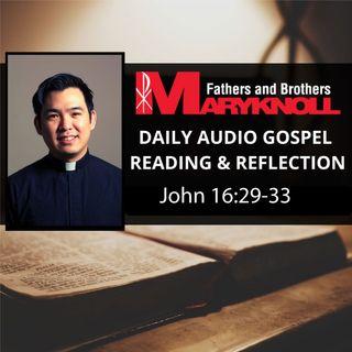 John 16: 29-33, Daily Gospel Reading and Reflection