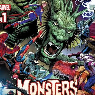 Source Material #158: Monsters Unleashed Comics (Marvel, 2017)