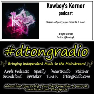 Mid-Week Indie Music Playlist - Powered by Kowboy's Korner Podcast